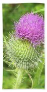 Crown Thistle Hand Towel