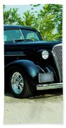 Custom 1937 Chevrolet Coupe Bath Towel