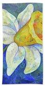 Daffodil Festival I Bath Towel by Shadia Derbyshire