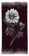 Daisy Sparkle Bath Towel