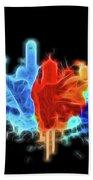 Dallas Neon Color Blast Hand Towel