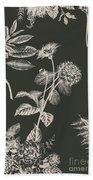 Dark Botanics  Hand Towel
