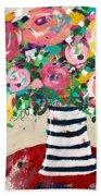 Delightful Bouquet 5- Art By Linda Woods Bath Towel