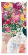 Delightful Bouquet- Art By Linda Woods Hand Towel