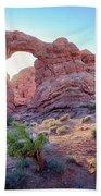 Desert Sunset Arches National Park Bath Towel