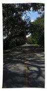 Dixie Highway In Micanopy Florida Bath Towel