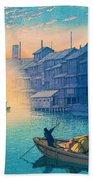 Dotonbori Morning - Top Quality Image Edition Bath Towel