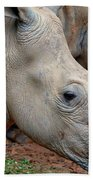 Double Rhino Hand Towel