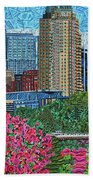 Downtown Raleigh Hand Towel