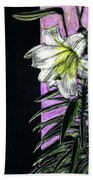 Easter Lily Hand Towel