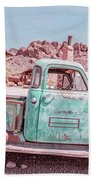 Eldorado Ghost Town Searchlight Nevada Pano Hand Towel
