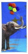 Elephant Celebration Bath Towel