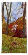 Fall Colors I Bath Towel by Shadia Derbyshire