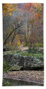 Fall On The Kings River Hand Towel