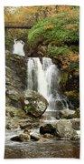 Falls At Inversnaid In Autumn Bath Towel