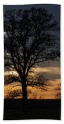 Farm Country Sunset Hand Towel