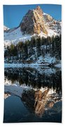 First Snow At Lake Blanche Hand Towel by James Udall
