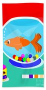 Fish Tank With Fish And Complete Kit Bath Towel