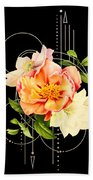Floral Abstraction Bath Towel by Bee-Bee Deigner