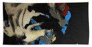 Folsom Blues _ Johnny Cash  Bath Towel