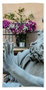 Fontana Dei Quattro Fiumi Bath Towel