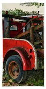 Ford F4 Tow The Truck Business End Bath Towel