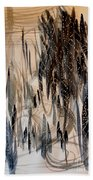Forest Of Lights Bath Towel