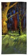 Forest Trees 1 Bath Towel