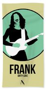 Frank Zappa Bath Towel