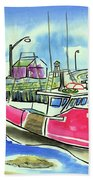 Fundy Tide Hall's Harbour Hand Towel