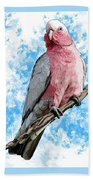 G Is For Galah Bath Towel