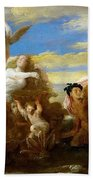 Galatea And Polyphemus  Bath Towel