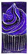 Galactic Universe Cupcake Hand Towel