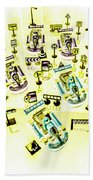 Go-kart Art Hand Towel