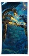 Godzilla II Rei Dos Monstros Bath Towel