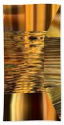 Gold  Hand Towel