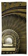Golden Stairway Bath Towel