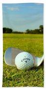 Golf Day Bath Towel