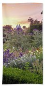 Great Dixter Perennial Border Hand Towel by Perry Rodriguez