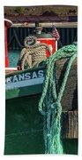 Great Lakes Towing Tug Kansas Bath Towel
