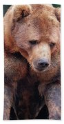Grin And Bear It Hand Towel