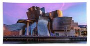 Guggenheim Museum - Bilbao, Spain Bath Towel
