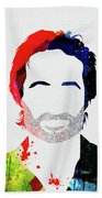 Hank Moody Watercolor Bath Towel