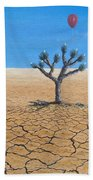 Happy Little Tree Bath Towel by Kevin Daly