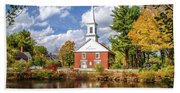 Harrisville, New Hampshire Church Bath Towel