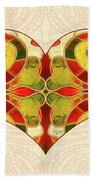Heart Illustration - Creating Passionate Experience - Omaste Witkowski Bath Towel by Omaste Witkowski