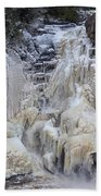High Falls, Smaller Waterfall Bath Towel