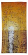 Hilton Head Sunrise Original Painting Bath Towel