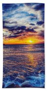 Honolulu Sunset Bath Towel
