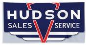 Hudson Motor Co. Bath Towel